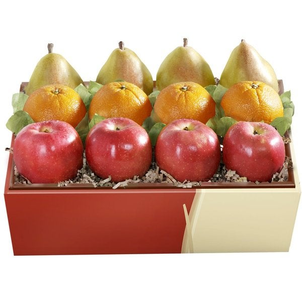 Organic Fruit Trio Grande Gift Box