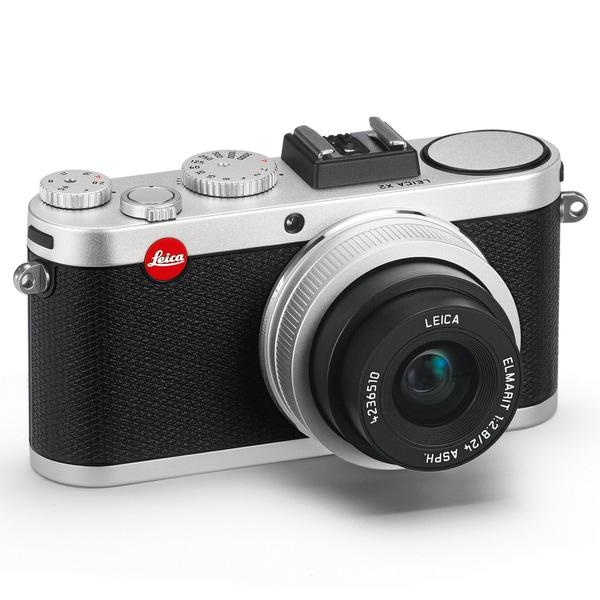 Leica X2 16.2 Megapixel Compact Camera - Silver 11073314