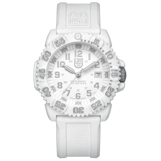 Luminox Unisex Swiss Quartz White Dial Watch