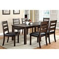 Furniture of America Jolson Transitional Natural Wood Grain 7-piece Dining Set
