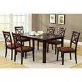 Dietric Espresso Finish 7-piece Dining Set