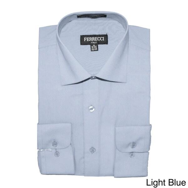 Ferrecci Men's Slim Fit Dress Shirt