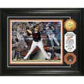 MLB Manny Machado 'Triple Play' Used Dirt Coin Photo Mint