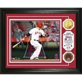 MLB Josh Hamilton 'Triple Play' Used Dirt Coin Photo Mint