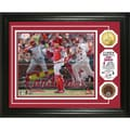 Yadier Molina 'Triple Play' Gold Coin Photo Mint