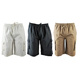 Mike's Eco Hemp and Cotton Men's Cargo Shorts (Nepal)