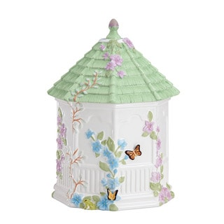 Lenox Butterfly Meadow Gazebo Cookie Jar