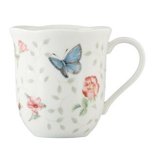 Lenox Butterfly Meadow 4-Piece Assorted Petite Mugs Set