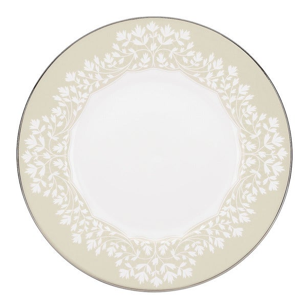 L by Lenox 'Nature's Vows' Leaf Motif China Dinner Plate