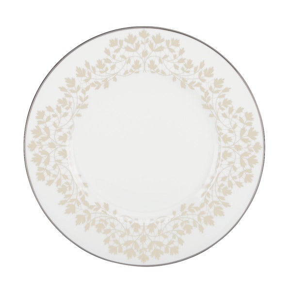 L by Lenox 'Nature's Vows' Leaf Motif China Accent Plate