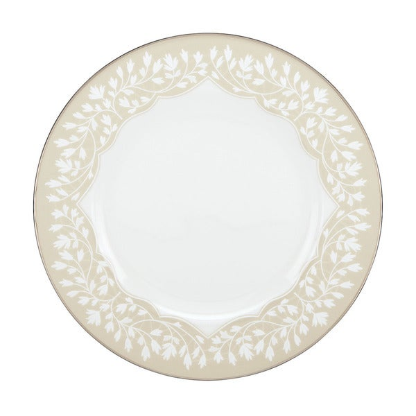 L by Lenox 'Nature's Vows' Leaf Motif China Salad Plate