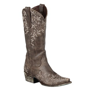 Lane Boots Women's 'Madeline' Brown Cowboy Boots