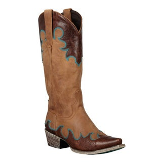 Lane Boots Women's 'Dolly' Chocolate Cowboy Boots