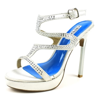 Celeste Women's 'Michelle-02' Satin Jewel Embellishment Sandals