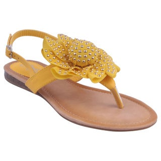 Refresh by Beston Women's 'KIKI-02' Sandals