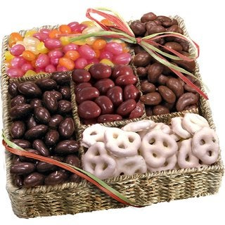 Sweet Organic Basket of Treats