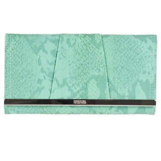 Kenneth Cole 'Reaction Barcelona' Mint Green Clutch Wallet