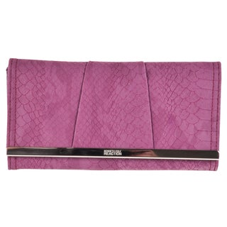 Kenneth Cole 'Reaction Barcelona' Plum Clutch Wallet