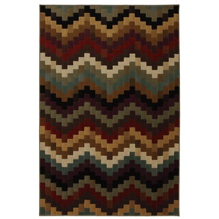 Bargello Multi Rug (8' x 10')