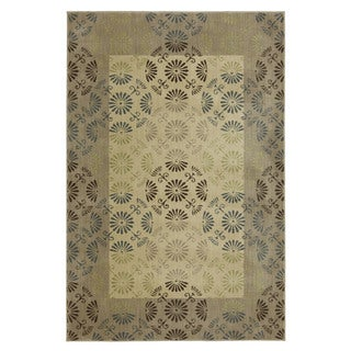 Reflections Bordered Rug (5'3 x 7'10)