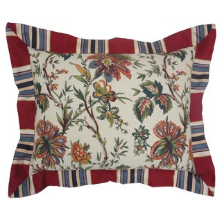 Waverly Felicite Ivory Pieced Decorative Pillow