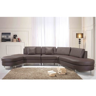 Copenhagen Brown 5-seat Sectional Sofa, Settee, Lounge