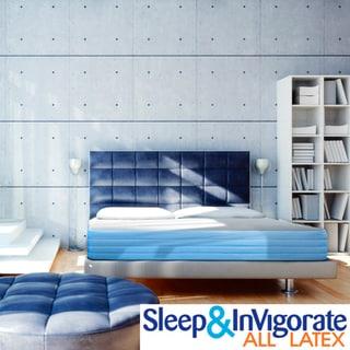 Sleep & Invigorate 10-inch All Latex King-size Mattress