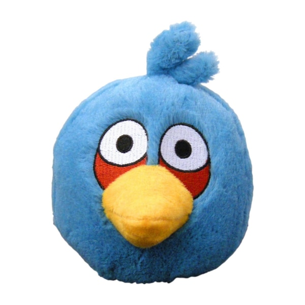 Angry Birds 16-Inch Stuffed Plush Blue Bird