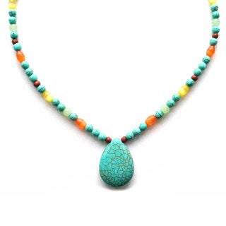 Turquoise Vacation Necklace