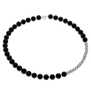 Karla Patin 2-tone Pearl Necklace