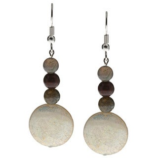 Fancy Jasper Dangle Earrings