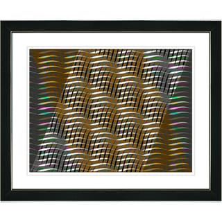 Studio Works Modern 'Placidus - Brown' Framed Print