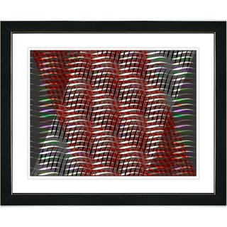 Studio Works Modern 'Placidus - Red' Framed Print