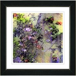 Studio Works Modern 'Rosebush' Framed Print