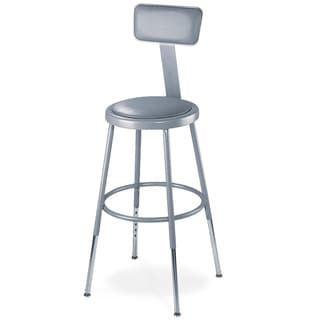 National Public Seating Adjustable Padded Stool