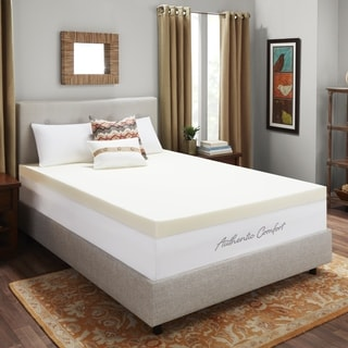 Dream Form 4-inch Memory Foam Mattress Topper