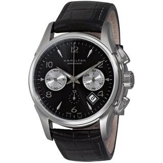 Hamilton Jazzmaster Stainless-Steel Auto Chrono Watch