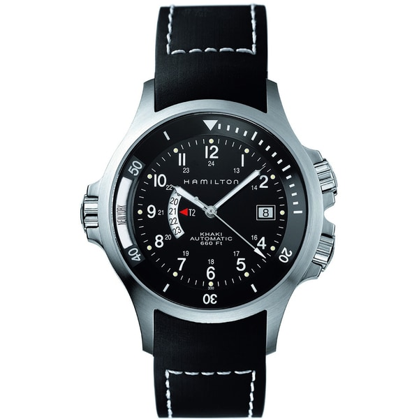 Hamilton Khaki Navy GMT H77615333 Watch