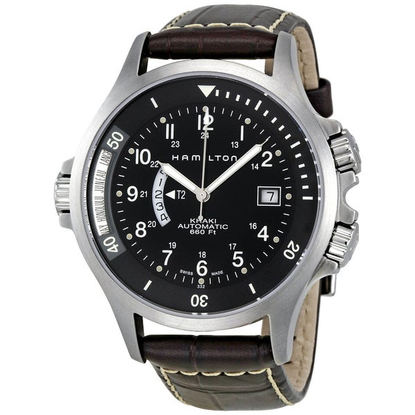 Hamilton Khaki Navy GMT H77615833 Watch