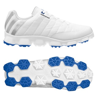Adidas Mens Crossflex White/ Satellite Golf Shoes