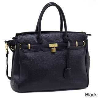 Emperia Ostritch Embossed Tote Bag