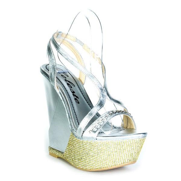 Celeste Women's 'Lea-03' Wedge Sandals