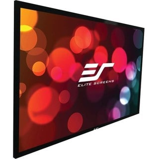 Elite Screens ER176WH1W-A1080P2 Sable235 Wall Mount Fixed Frame Proje