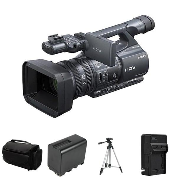 Sony HDR-FX1000 Handycam HDV Black Camcorder Bundle