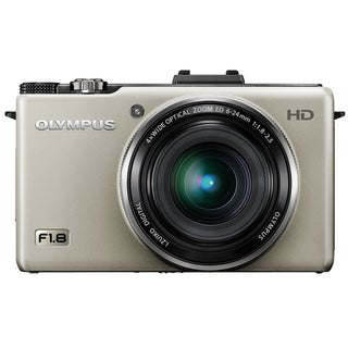 Olympus XZ-1 10MP Silver Digital Camera