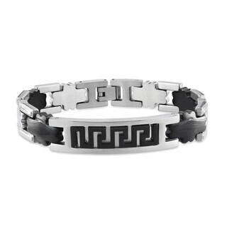 M by Miadora Men's Stainless Steel Bracelet