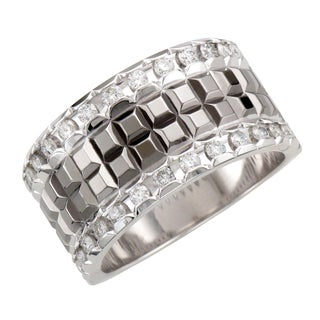 Sterling Silver Men's 3/4ct TDW Diamond Band (H-I, I1-I2)