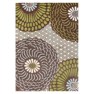 Handmade Friar Brown Blend Wool Area Rug (9' x 12')