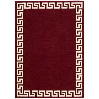 Barclay Butera Kaleidoscope Greek Border Spice Rug (5'3 x 7'5) by Nourison