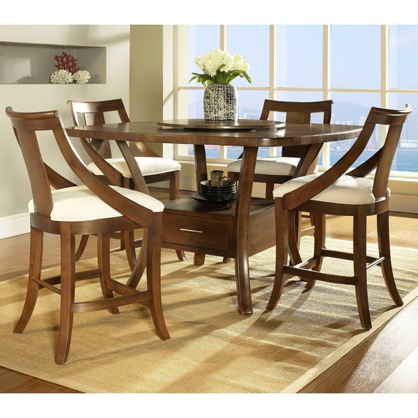 Counter Height Dining Table Set : Somerton Dwelling Gatsby 5-piece Counter Height Dining Set - 15344825 ...